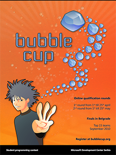 Bubble cup 3